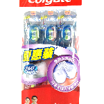 YOYO.casa 大柔屋 - Colgate Interdental Toothbrush Soft,3pcs