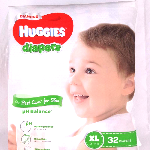 YOYO.casa 大柔屋 - Huggies Diaper,32s <BR>XL